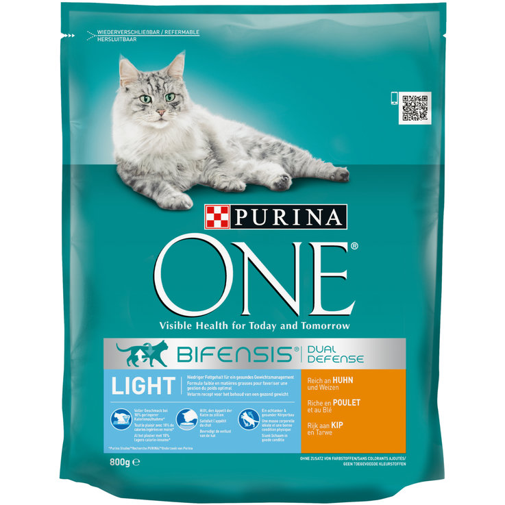 Croquettes - One Croquettes de poulet & blé Light pour chat