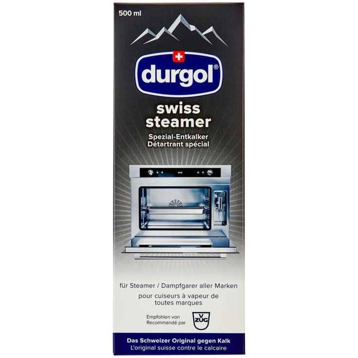 Descaler - durgol Swiss Steamer Special Decalcifier for Steamers