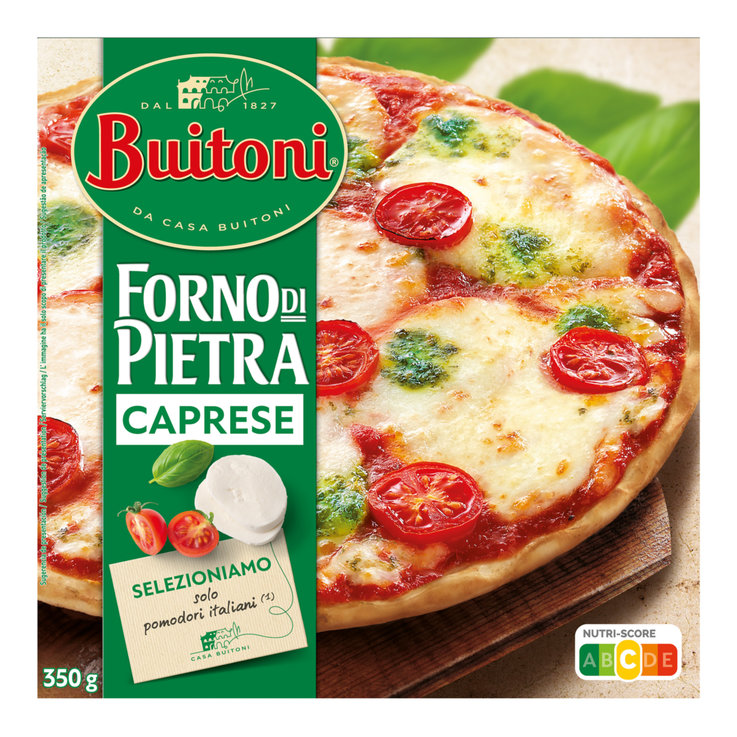 Pizza - Buitoni La Fina Frozen Mozzarella Pizza