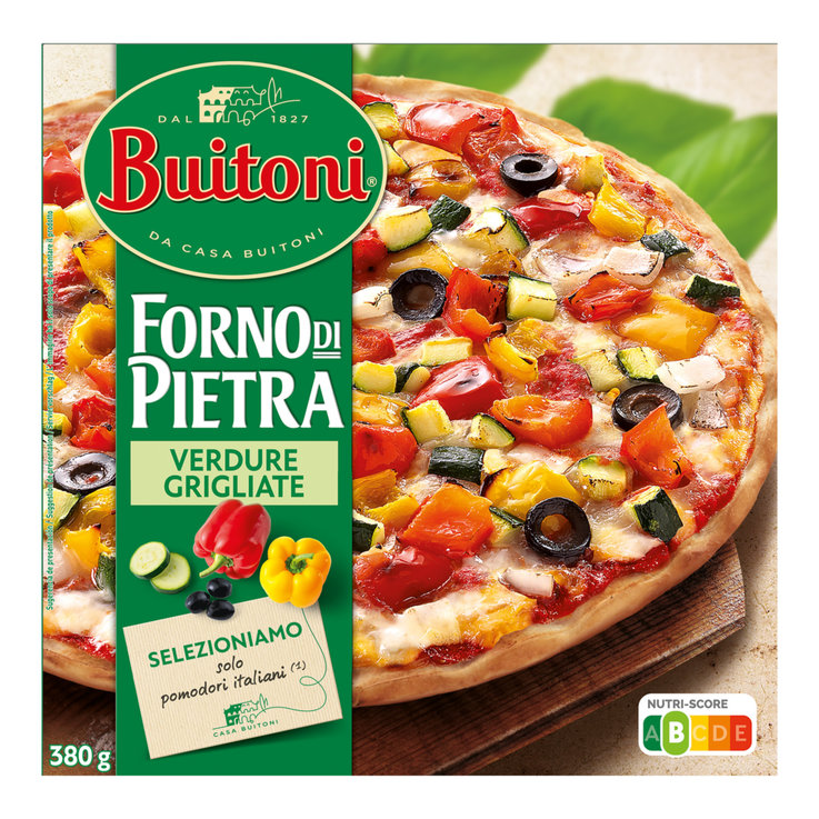 Pizza - Buitoni La Fina Frozen Vegetarian Pizza
