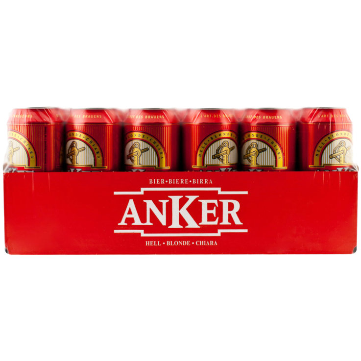 Multipacks more than 12x50cl - Anker Lager Beer 24x50cl