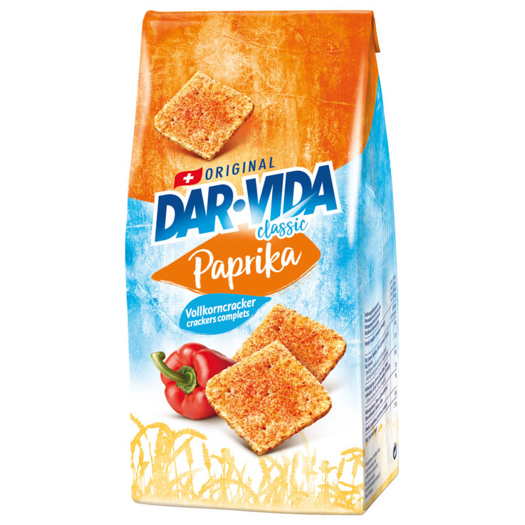 Crackers - Dar-Vida Paprika Crackers