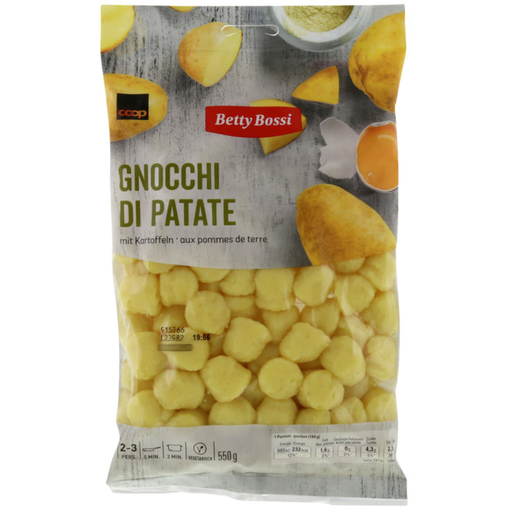 Side Dishes - Betty Bossi Potato Gnocchi