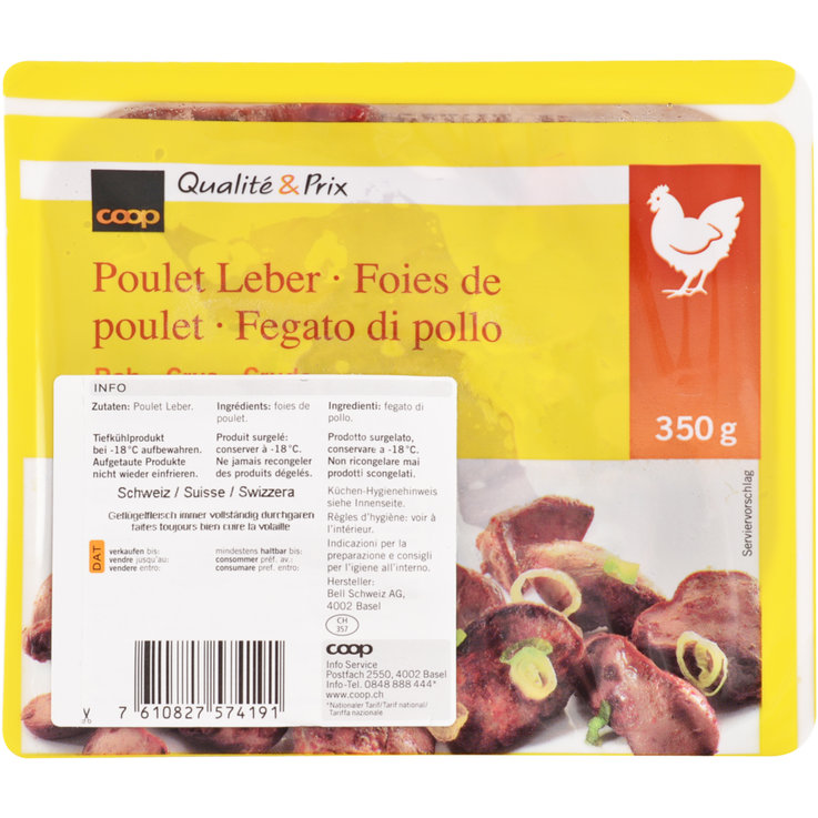 Meat Products - Frozen Chicken Liver