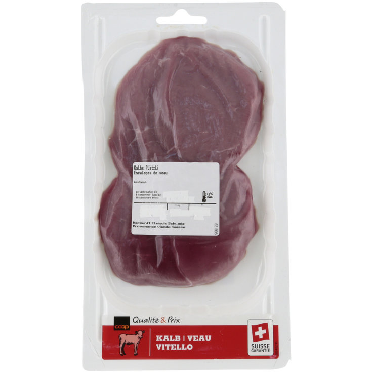 Veal - Veal Escalope 180g