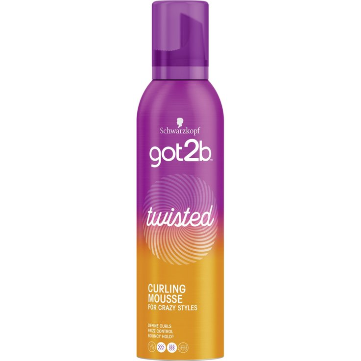 Mousse - got2b Lovely Locks Styling Mousse