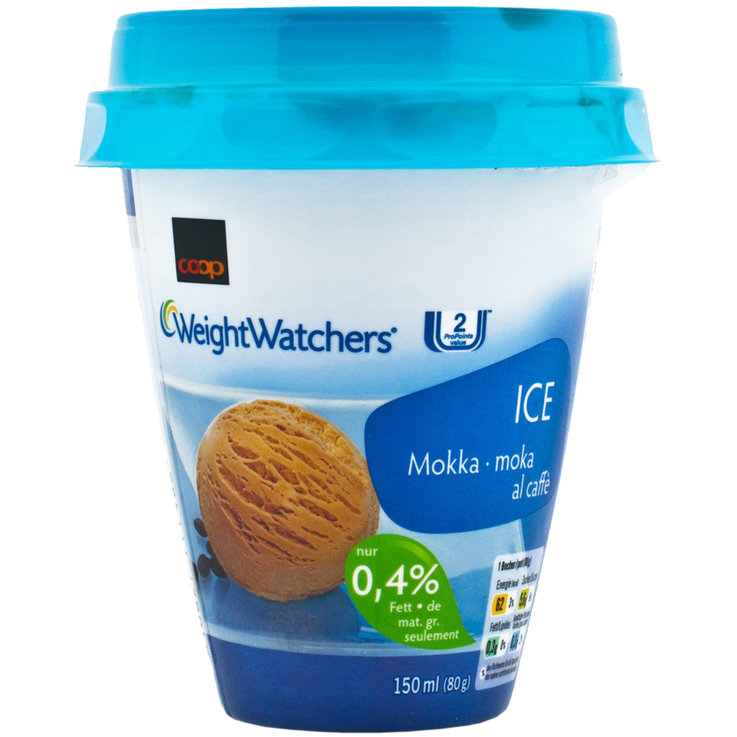 Gelati in coppetta - Weight Watchers Glace Mokka 0,4% Fett