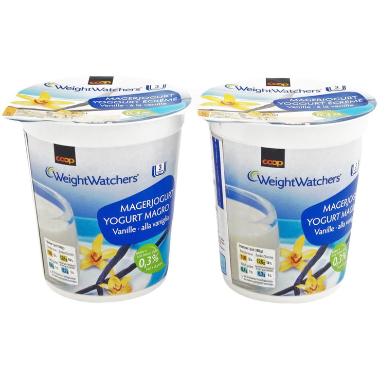 Vanilla, Caramel & Honey - Weight Watchers Vanilla Yogurts 2x180g