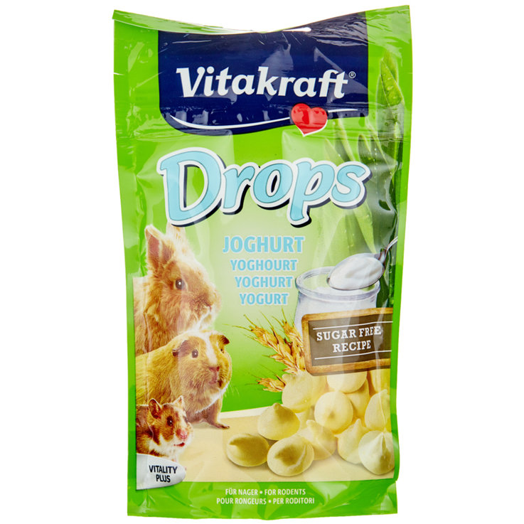 Rabbits - Vitakraft Drops Yoghurt for Rodents 75 g