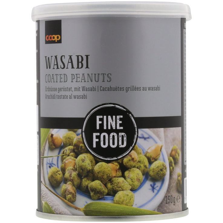 Peanuts - Fine Food Wasabi Coated Peanuts