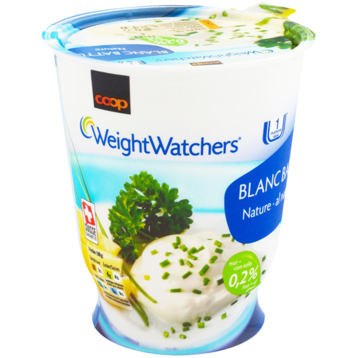 Natural Quark - Weight Watchers Natural Blanc Battu