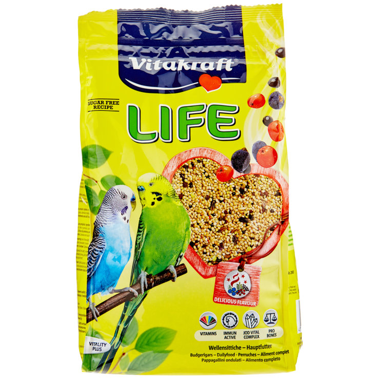 Parakeets - Vitakraft Life Power for Budgerigars 800 g