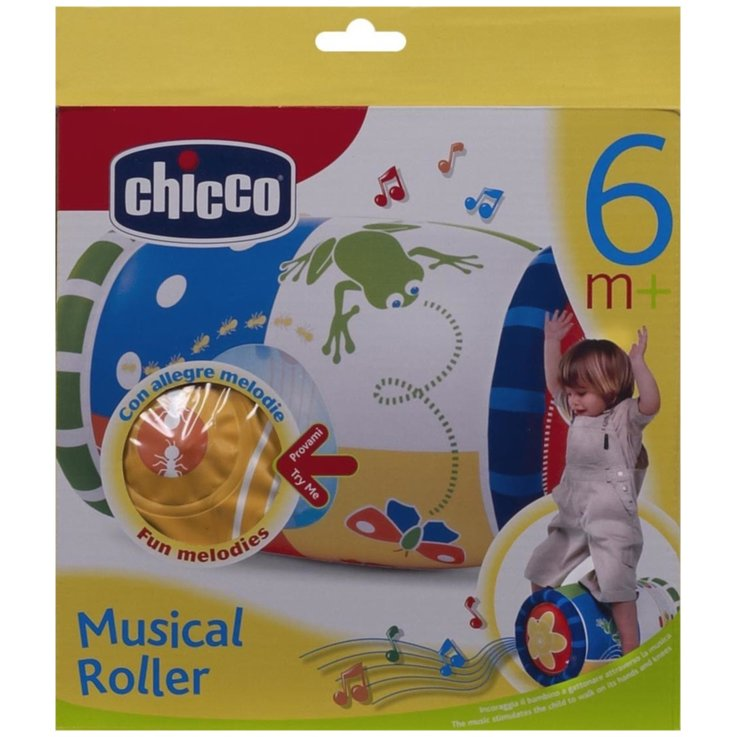 Other Toys - Chicco Musical Roll Baby Toy 6 Months+