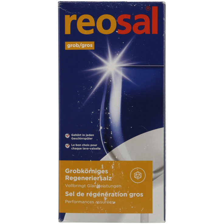 Dishwasher Additives - Reosal Coarse Dishwasher Salt