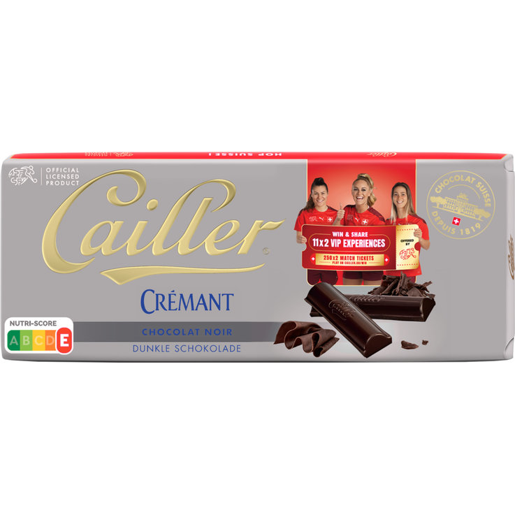 Cooking Chocolate - Cailler Crémant Dark Chocolate Bar