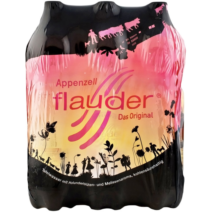 Other Limonades - Appenzeller Flauder Carbonated Water Elder Blossom 6x1,5l