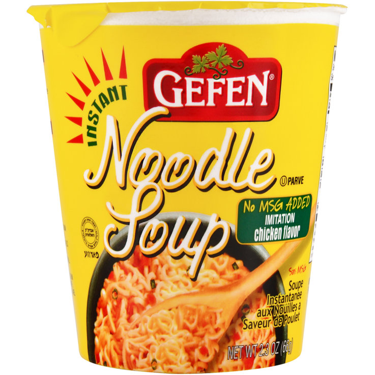 Clear Soup - Gefen Kosher Instant Chicken Noodle Soup Mix