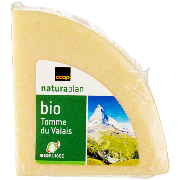 Alpine Cheese - Naturaplan Organic Valais Tomme Cheese 180g