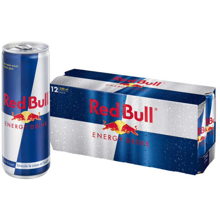 Multipacks unter 1 Liter - Red Bull Energy Drink 12x25cl