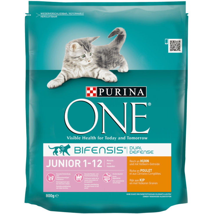 Dry Food - One Chicken & Cereal Dry Junior Cat Food