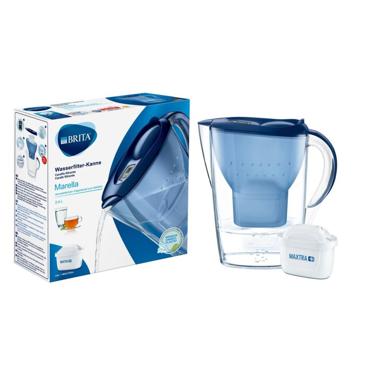 Jugs & Water Softeners - Brita White Marella Cool Water Filter 2.4 Litres 1PCE