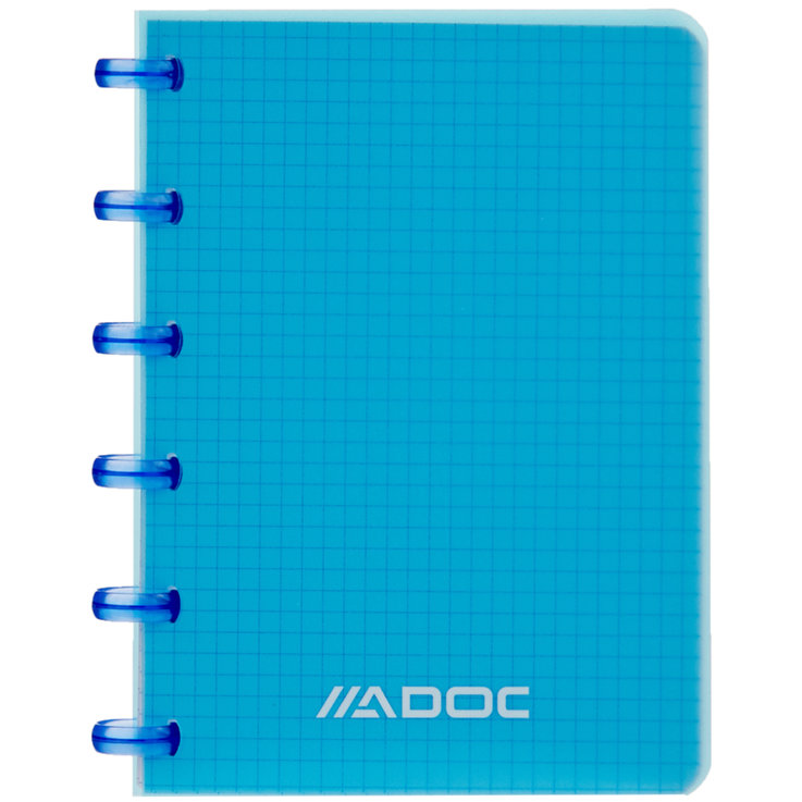 Notebooks - Adoc A6 Blue Ring Notebook