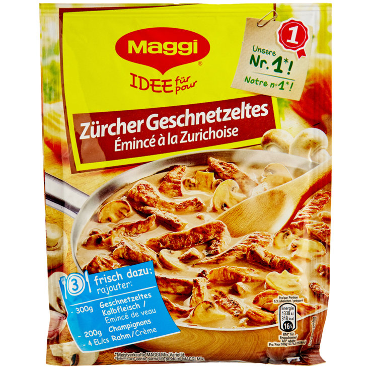 Meat Seasoning & Marinades - Maggi Zürich Style Sliced Meat Mix