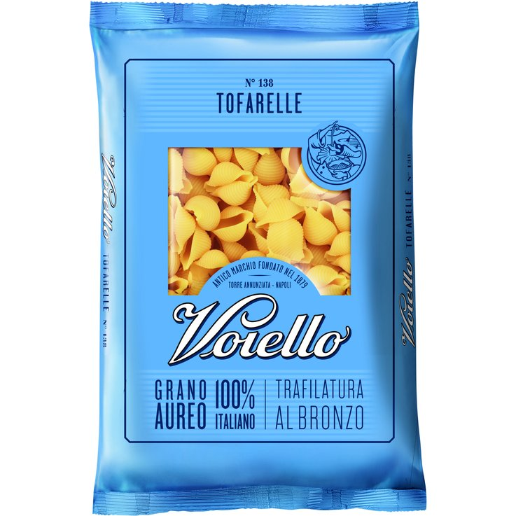 Shaped Pasta Products - Voiello Tofarelle Pasta