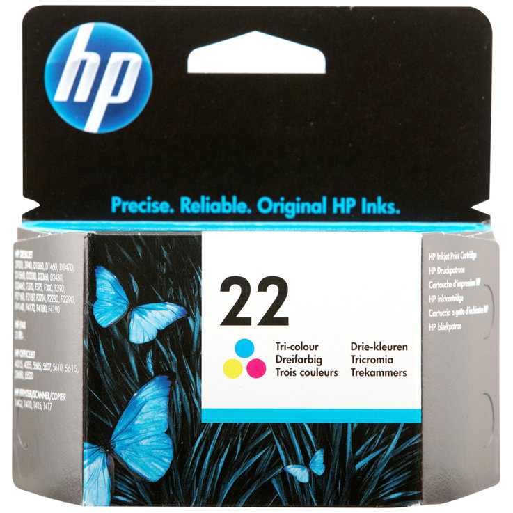 HP - HP 22 Colour Ink Cartridge