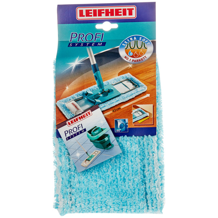 Floor Mops & Buckets - Leifheit Extra Soft Wiper Cover for Clean Twist Set