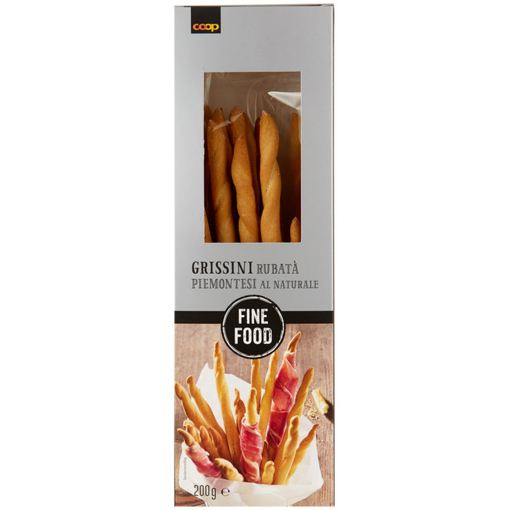 Grissini & Special Pastries - Fine Food Grissini Rubata Bread Sticks