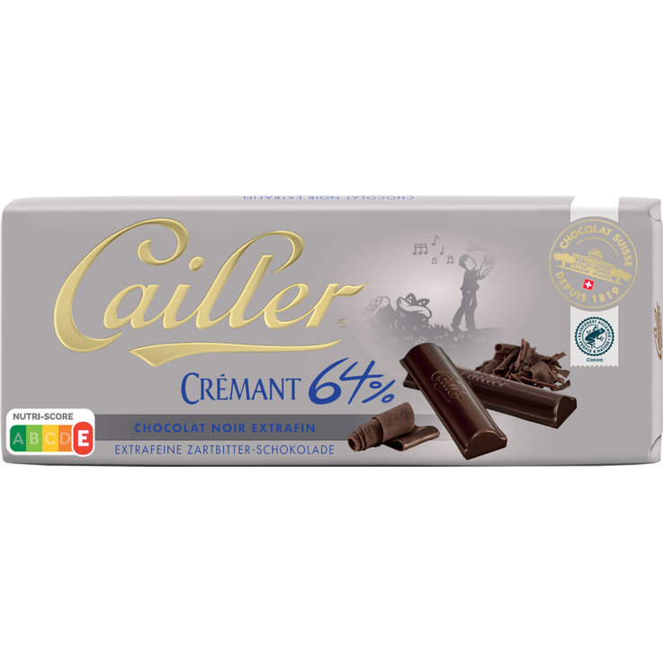 Cooking Chocolate - Cailler Crémant Dark Chocolate 64%