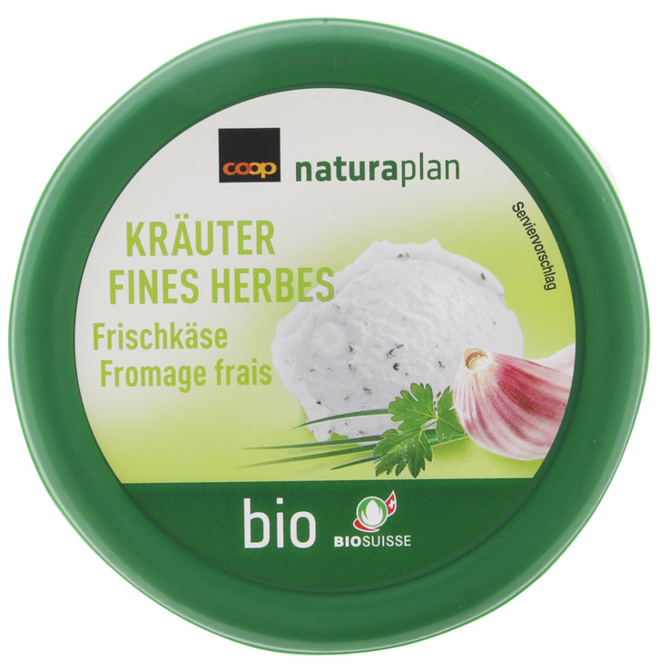 Cream Cheese & Fresh Spread - Naturaplan Organic Cream Cheese with Herbs