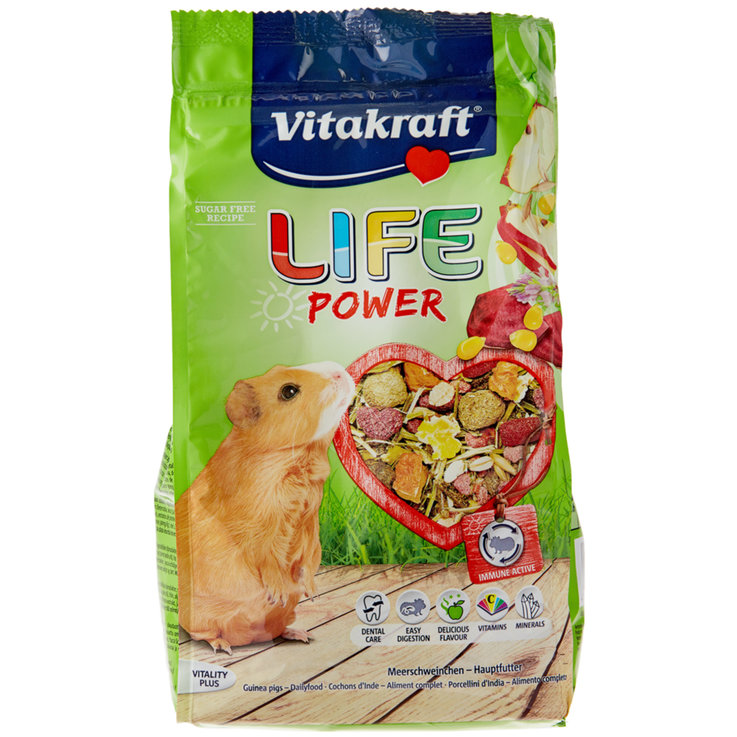 Guinea Pigs - Vitakraft Life Power for Guinea Pigs 600 g