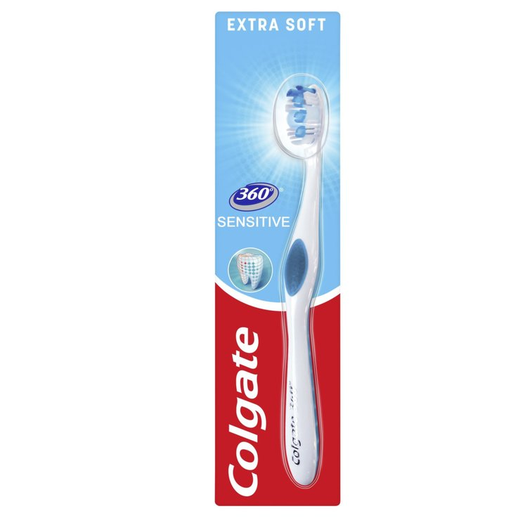 Toothbrushes for Adults - Colgate 360° Sensitive Toothbrush