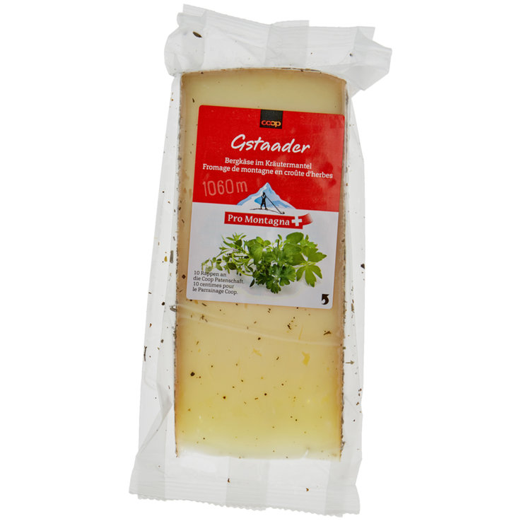 Alpine Cheese - Pro Montagna Gstaader Herb Mountain Cheese ca. 220g