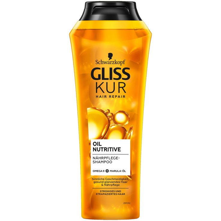 Repair & Color Shampoo - Gliss Kur Shampoo Oil Nutritive