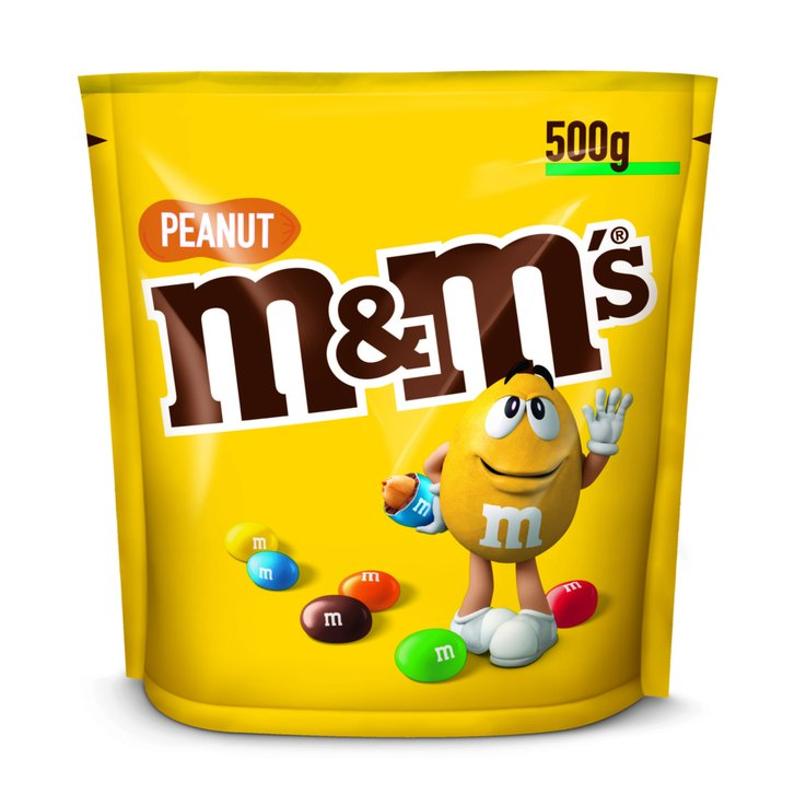 Sweet Nuts - M&M's Chocolate Candies with Peanuts