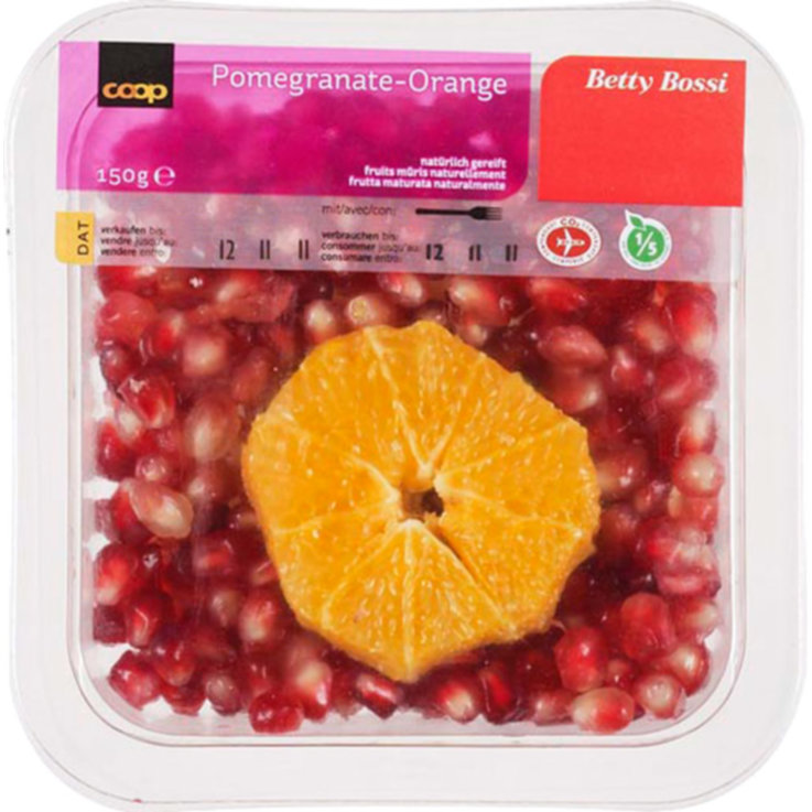 More Exotic Fruit - Betty Bossi Fresh Pomegranate & Orange
