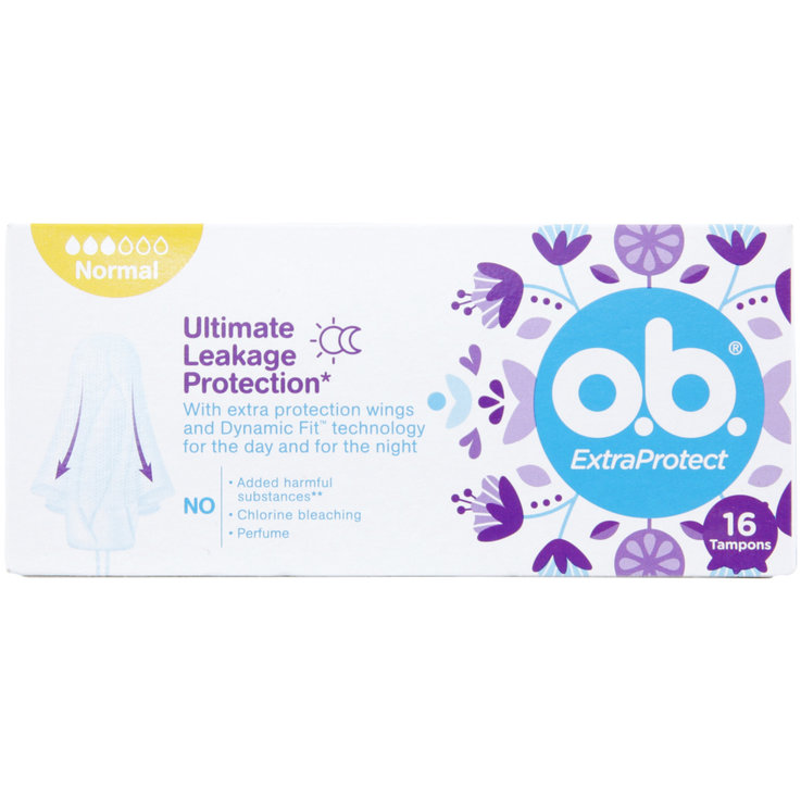 Normal - o.b. Tampons Flexia Normal 16 pièces