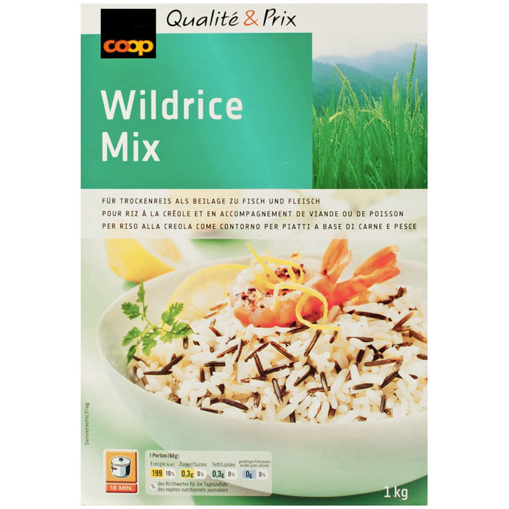 Wholegrain, Wild & Brown - Wild Rice Mix