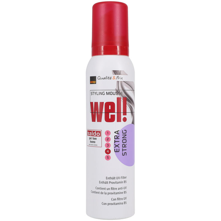 Mousse - Wel! Extra Strong Hair Mousse