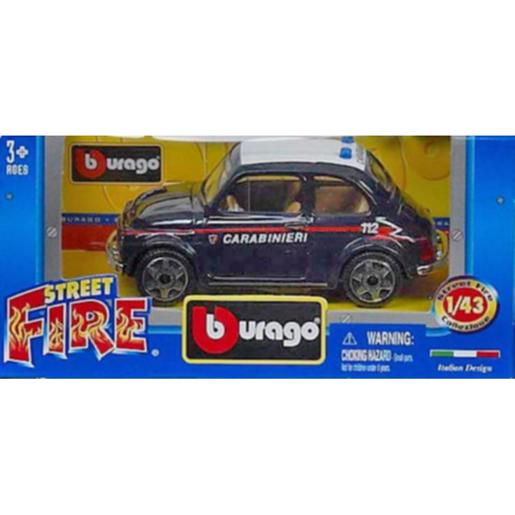 Cars & Vehicles - Burago Assorted 1/43 Street Fire Car 3 Years+