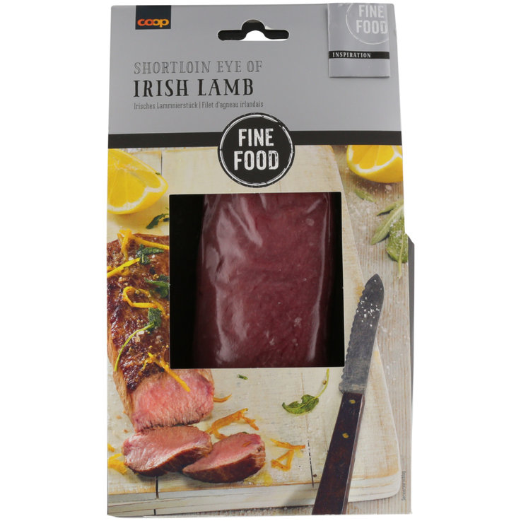 Agnello & Capretto - Fine Food Shortloin Eye of Irish Lamb 350g
