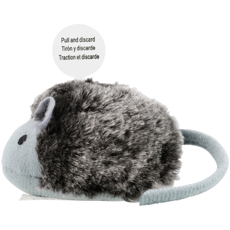 Toys - Vitakraft Plush Fur Mouse with Sound