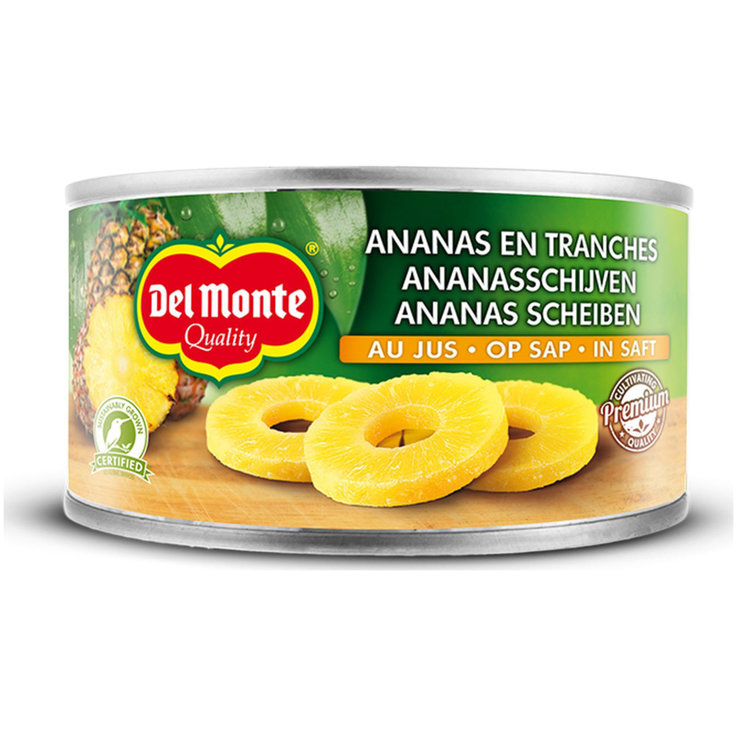Fruit - Del Monte Pineapple with Pineapple Juice 4 Slices