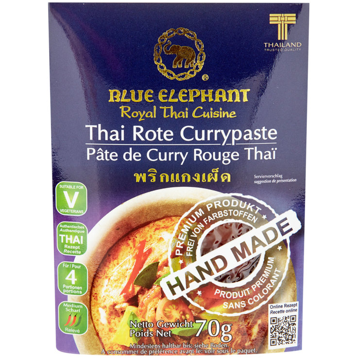 Curry Sauces - Blue Elephant Thai Red Curry Paste