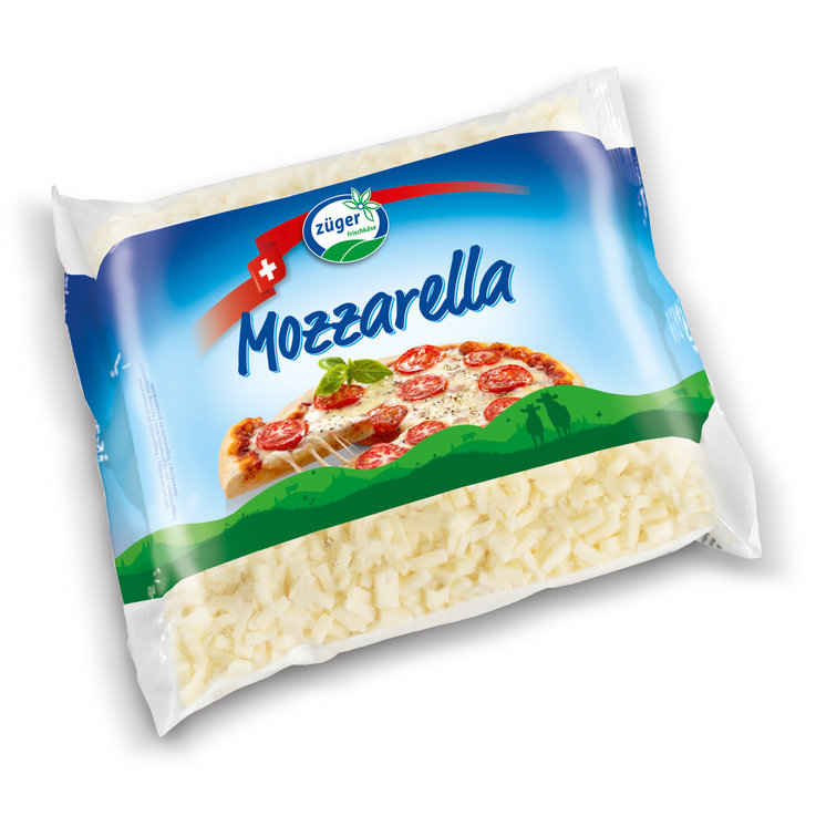 Grated Cheese - Züger Fresca Grated Mozzarella