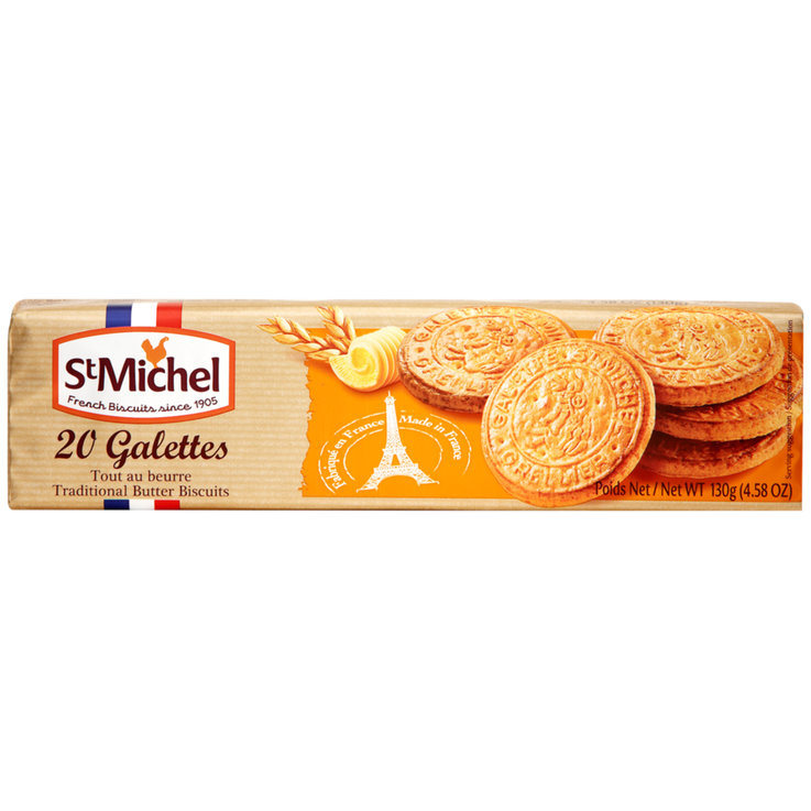 Butter Cookies - StMichel Butter Galettes Cookies 20 Pieces
