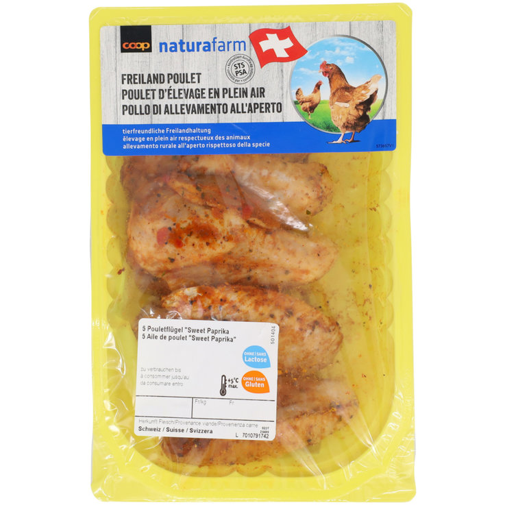 Poultry - Naturafarm Seasoned Chicken Wings 9 Pieces 680g